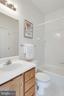 Full bath with both bedroom and hallway access - 14316 CLIMBING ROSE WAY #203, CENTREVILLE