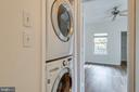 Full-sized washer and dryer - 14316 CLIMBING ROSE WAY #203, CENTREVILLE