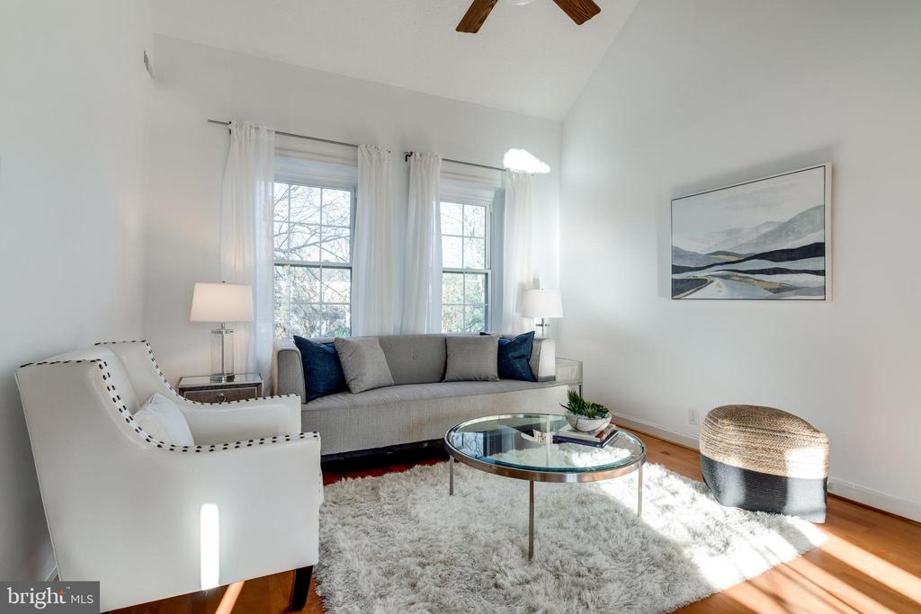 Living room - 2968 S COLUMBUS ST #C2, ARLINGTON