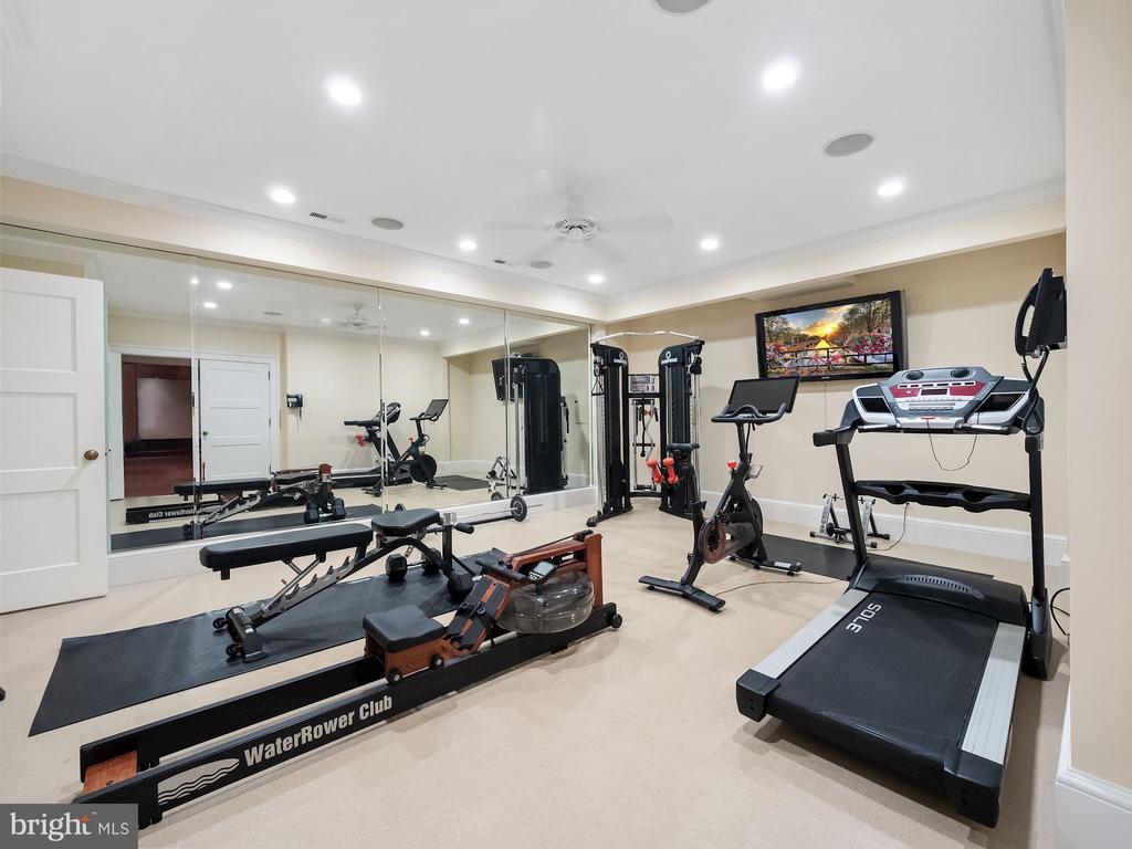 Professional Home Fitness Center - 6827 SORREL ST, MCLEAN