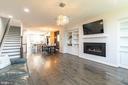 Imagine enjoying the toasty warm fireplace - 3167 VIRGINIA BLUEBELL CT, FAIRFAX