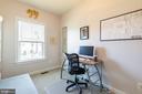 Bedroom #2 is also full of natural light - 3167 VIRGINIA BLUEBELL CT, FAIRFAX