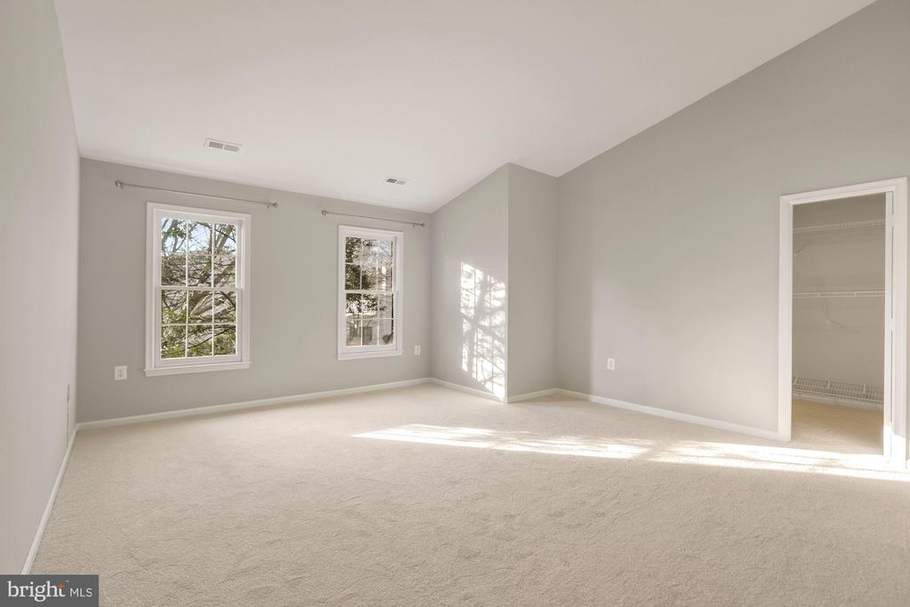 Primary Suite with Vaulted Ceiling - 47208 REDBARK PL, STERLING