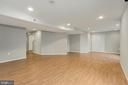 Basement Recreation Room - 47208 REDBARK PL, STERLING