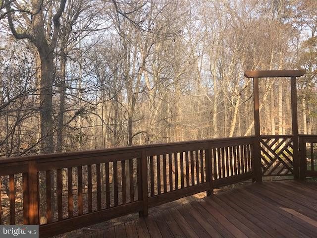 Expansive Deck with Breathtaking Views and Privacy - 47208 REDBARK PL, STERLING