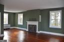 Master  bedroom with fireplace - 4343 39TH ST NW, WASHINGTON