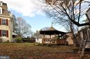 Gazebo, guesthouse in back, play structure - 4343 39TH ST NW, WASHINGTON
