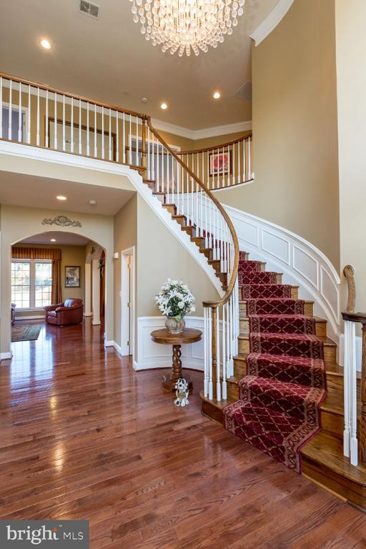 Gorgeous Curved Stairs - 40732 CHEVINGTON LN, LEESBURG