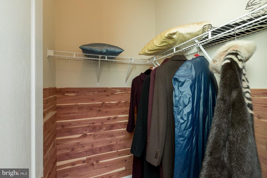 All closets with Cedar Lining - 40732 CHEVINGTON LN, LEESBURG