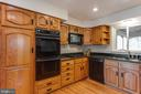 Gas cook top and built in microwave - 10300 WOOD RD, FAIRFAX