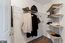 walk in closet - 20660 SHOAL PL, STERLING