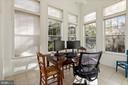 sunroom looking out into the trees - 20660 SHOAL PL, STERLING