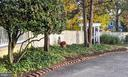 Inner fence to large open yard - 4343 39TH ST NW, WASHINGTON