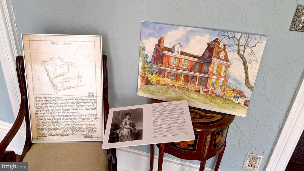History -  from old plat map to Dolley Madison - 4343 39TH ST NW, WASHINGTON