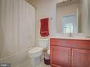 Bedroom Level Full Bath - 20375 BELMONT PARK TER #118, ASHBURN