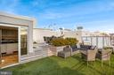 Two level private roof deck - 1515 15TH ST NW #708, WASHINGTON