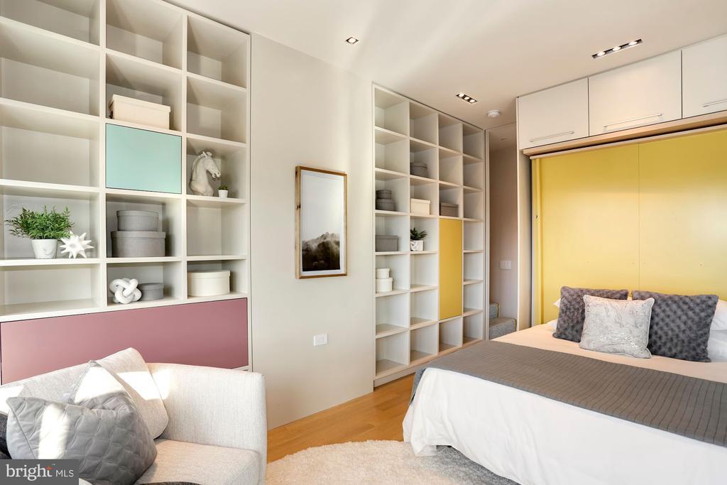 Custom murphy bed and storage galore - 1515 15TH ST NW #708, WASHINGTON
