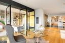 Leads to bedroom through paneled doors - 1515 15TH ST NW #708, WASHINGTON