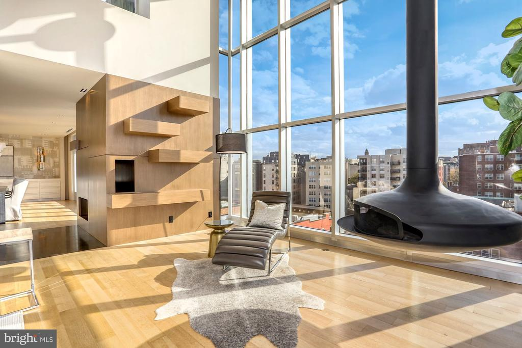 South and West facing city views - 1515 15TH ST NW #708, WASHINGTON