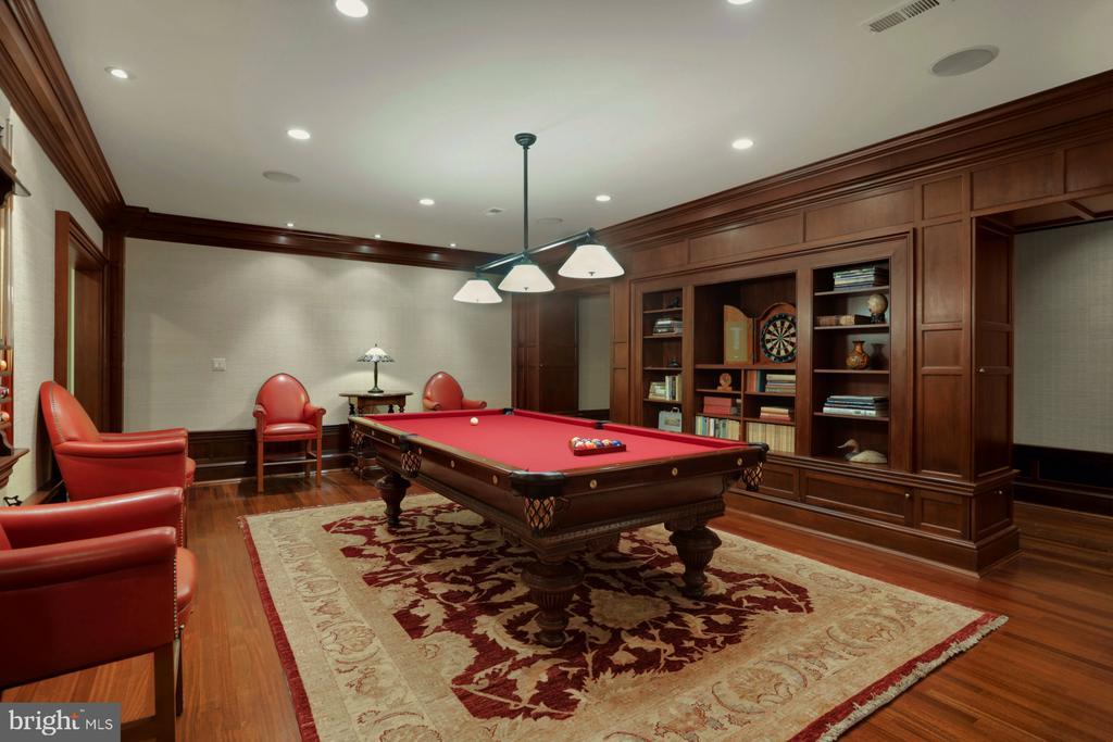 Billiards Room - 6827 SORREL ST, MCLEAN