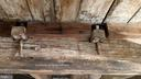 Colonial carpentry   hand hewn beams and wood pegs - 4343 39TH ST NW, WASHINGTON