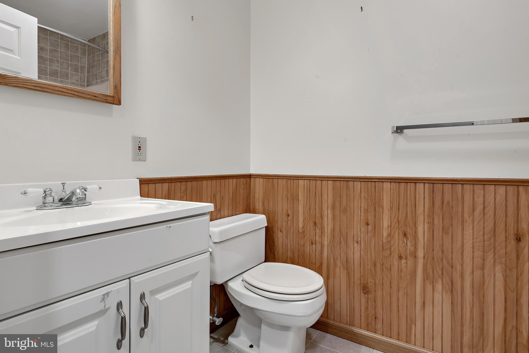 Full Bathroom in the lower level