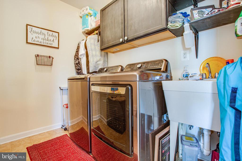 Laundry room - 628 LATANE DR, COLONIAL BEACH
