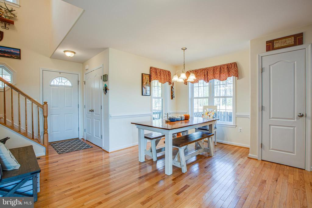 Dining area - 628 LATANE DR, COLONIAL BEACH