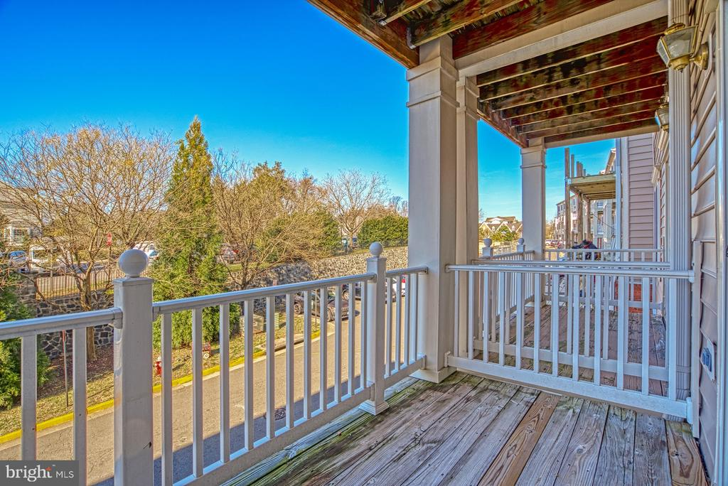 Balcony - 4557 WHITTEMORE PL #1411, FAIRFAX