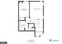 Upper level floorplan - 6922 ELLINGHAM CIR #122, ALEXANDRIA