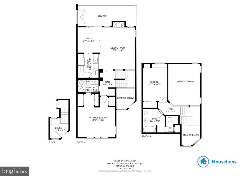 Entire floorplan - 6922 ELLINGHAM CIR #122, ALEXANDRIA
