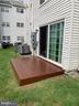 Wood Deck - 1107 HUNTMASTER TER NE #102, LEESBURG
