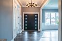 Foyer - 6614 EDSALL RD, SPRINGFIELD