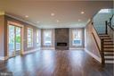 Living Room - 6614 EDSALL RD, SPRINGFIELD