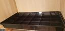 Segmented drawer-good for socks or ties, etc. - 11503 MAPLE RIDGE RD, RESTON