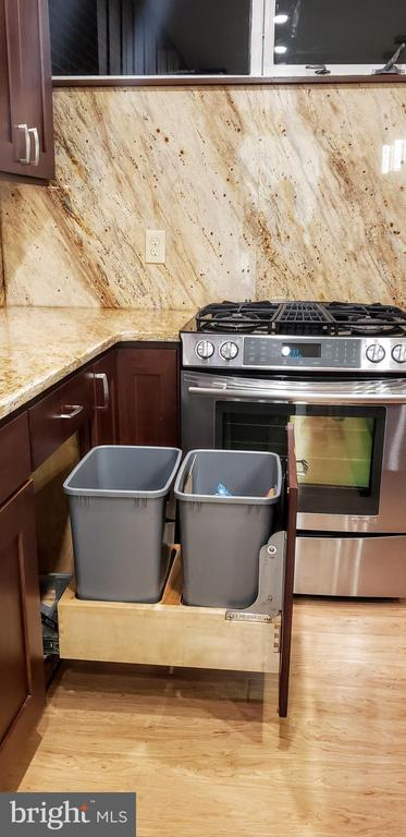 Pull out for 2 large 13 gallon trash cans - 11503 MAPLE RIDGE RD, RESTON