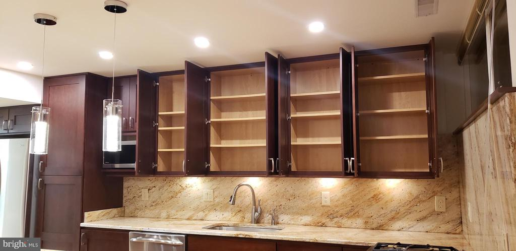 Lots of cabinet space and lights - 11503 MAPLE RIDGE RD, RESTON
