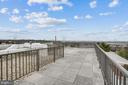 Roof Deck overlooking DC - 1300 ARMY NAVY DR #323, ARLINGTON