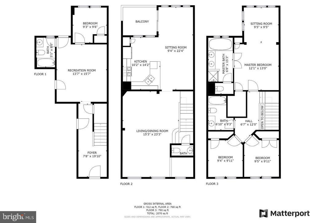 Fabulous open concept floor plan - 194 STAR VIOLET TER SE, LEESBURG
