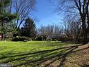 Fenced back yard - 17576 COACHMAN DR, HAMILTON
