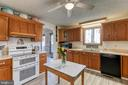 Large kitchen ready to make your own - 28 CARDINAL DR, FREDERICKSBURG