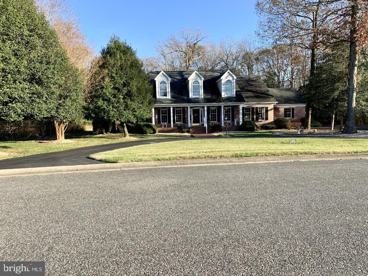 Single Family Homes por un Venta en Bishopville, Maryland 21813 Estados Unidos