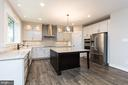 Tons of prep space and storage in kitchen. - 6789 ACCIPITER DR, NEW MARKET