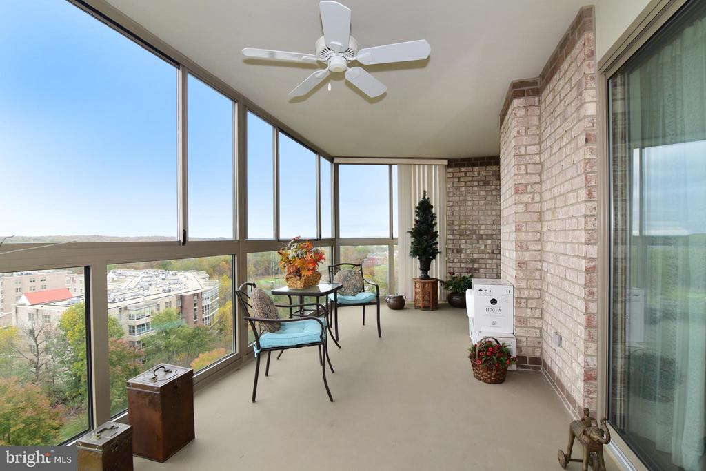 Huge sun room with expansive views! Mountain views - 19385 CYPRESS RIDGE TER #817, LEESBURG