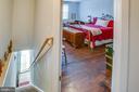 1111 Caroline 2nd Floor Apartment Entrance - 1113 CAROLINE ST, FREDERICKSBURG