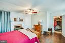 1111 Bedroom1 with Walk In Closet - 1113 CAROLINE ST, FREDERICKSBURG