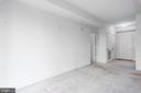 View of Living Area and Foyer - 19355 CYPRESS RIDGE TER #405, LEESBURG