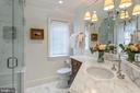 Owner's Bathroom 1 - 2446 KALORAMA RD NW, WASHINGTON