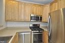 NEW gas range and stainless steel appliances - 2310 14TH ST N #205, ARLINGTON