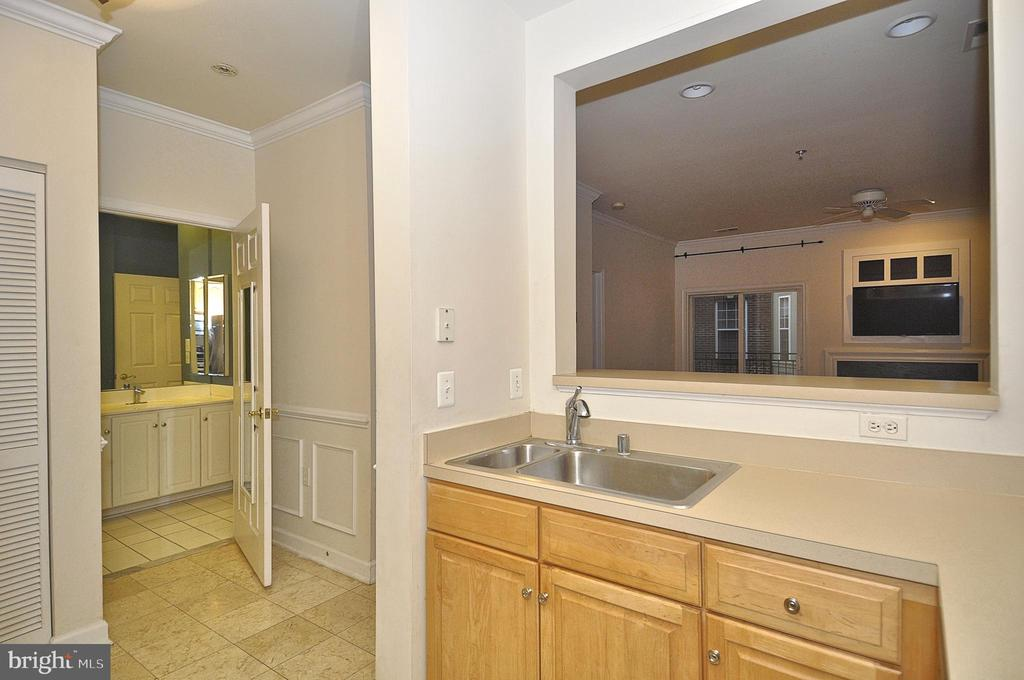 Open layout with large sink - 2310 14TH ST N #205, ARLINGTON